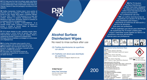 alcohol Surface Disinfectant Wipes